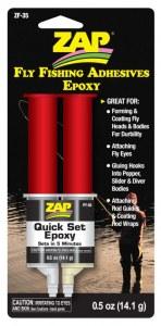 Quick Set Epoxy Zap JMC